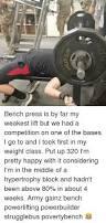 Bench Press Hypertrophy 280k Boom 280kg Bench Press Massive Bench Pressed Meme On Me Me