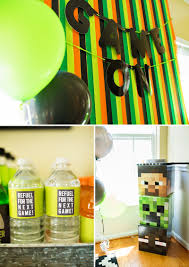 Minecraft Table Decorations Parties In Pinch Where To Save And Splurge Awesome Minecraft