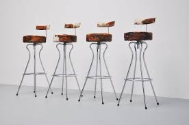 stunning cowhide bar stools furniture