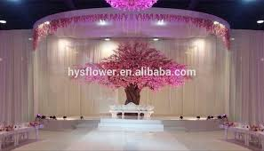 Cherry Blossom Decor Wedding Stage Decoration Silk Artificial Cherry Blossom Trees For