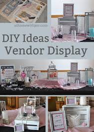 table picture display ideas diy vendor display ideas at home with jen
