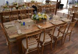 Chair Rental Prices Wood Country Farm Tables For Wedding Party Event Rental Call To