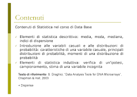 statistica descrittiva dispense statistica docsity