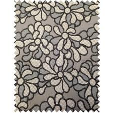 peacock home decor wholesale designer floral flower black grey pattern fabrics curtain