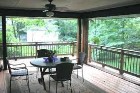screen porch curtains patio privacy screening ideas image and