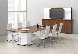 White Conference Table Fascinating Modern Conference Table Curved End Shaped White Glass