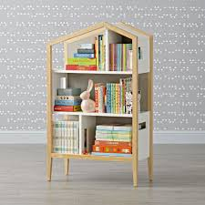 modern house bookcase the land of nod