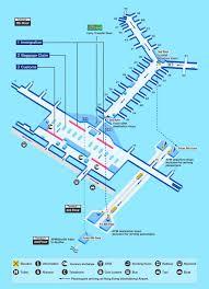 Charlotte Airport Gate Map Hk Airport Gate Map Hong Kong Airport Gate Map China