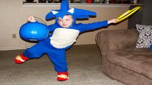 Sonic Hedgehog Halloween Costume Diy Overalls Halloween Costumes Kids Popsugar Moms 25