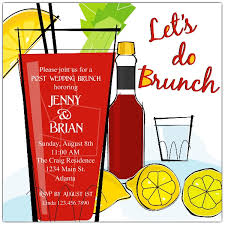 brunch invitation wording ideas spicy cocktails brunch invitations paperstyle
