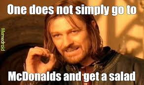 Salad Meme - mcdonalds salad meme by dabhoy memedroid