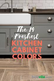 cool kitchen cabinet colors 14 kitchen cabinet colors that feel fresh bob vila bob vila
