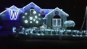 Christmas House Light Show by Go Cubs Go Christmas Light Show Gurnee Il Youtube