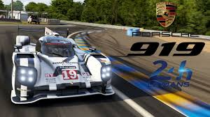 porsche hybrid 919 forza motorsport 6 porsche 919 hybrid test drive at le mans youtube