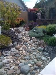 dry stream bed garden pinterest stream bed dry creek and