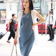 discount maternity clothes freesize maternity dresses elastic maternity clothes 2pcs white