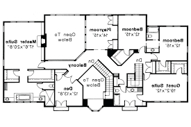 pleasant modern small two story house plans mediterranean two2nd