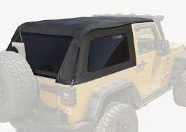 07 jeep wrangler top rugged ridge 13750 39 bowless top black 07 16 jeep