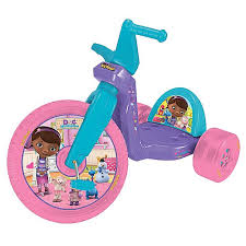 16 inch doc mcstuffins big wheel racer toysrus stuff to