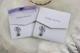 Tri Fold Invitations Lavender Tri Fold Wedding Invitations 1 50 Free Envelopes