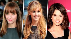 with bangs haircuts for round face for women 2016 haircut