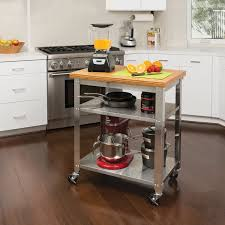 Kitchen Island Wheels by Portable Kitchen Island Home Styles Bessie Kitchen Island U0026