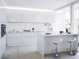ilot cuisine blanc îlot de cuisine latéral blanc fly