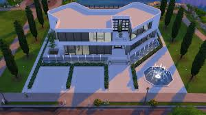 Modern Mansion Mod The Sims Ultra Modern Mansion No Cc