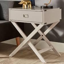 end table black 24 ore international mercury row marotta 1 drawer end table reviews wayfair