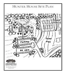 Historic Home Floor Plans by Historic Properties Rental Services Hunter House Fairfax County