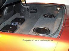 c6 corvette sub box 2005 2013 c6 corvette convertible dual upfire 10 sub box