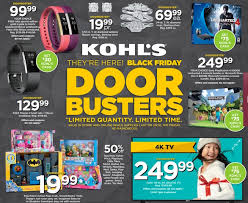 kohl s ps4 black friday kohl u0027s black friday ad scan 2016 here are the must have deals