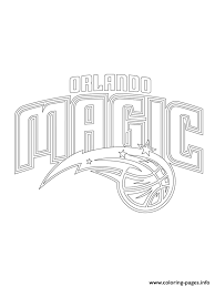 new york knicks coloring pages orlando magic logo nba sport coloring pages printable