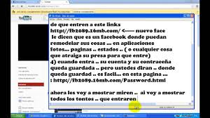 como hackear un facebook facil rapido y sin programas como hackear facebook sin descargar nada 100 real youtube