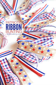 patriotic ribbon diy patriotic ribbon bunting tauni co
