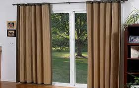Curtains For Sliding Glass Patio Doors Curtains For Sliding Glass Doors With Vertical Blinds Patio Door