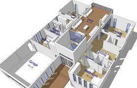 buy our 2 level steel frame home 3d floor plan next generation