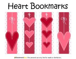 valentine coloring bookmarks 100 best printable bookmarks at