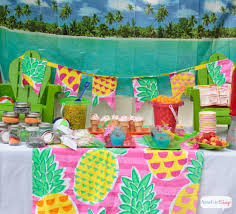 Printable Hawaiian Decorations Backyard Beach Party Ideas Fun Party Games Party Games And