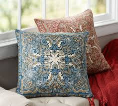 mansfield print pillow cover pottery barn