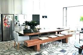table with bench seat dining room table bench seating dining room furniture bench seating