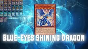 yu gi oh duel links blue eyes shining dragon king of games