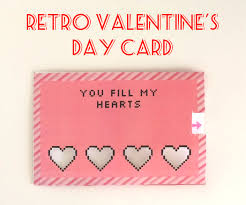retro valentine u0027s day card 4 steps with pictures