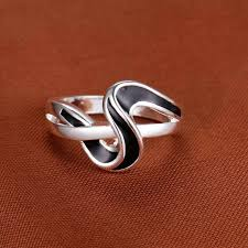 s ring online shop exquisite design 2016 silver ring with the lettle s