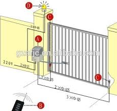 gate motor wiring diagram wiring diagram for gemini gate motor