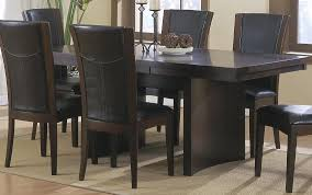 espresso rectangular dining table homelegance daisy rectangular extension dining table in espresso 710
