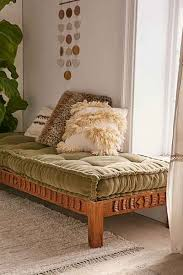 rohini velvet daybed cushion daybed spaces and room