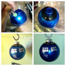 tardis tree lights decoration