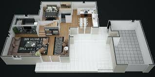plan de maison 120m2 4 chambres plan maison etage 4 chambres gratuit beau plan maison 120m2 ml51
