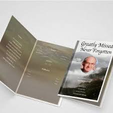 Beautiful Funeral Programs Create Funeral Programs Online Using Easy Editor